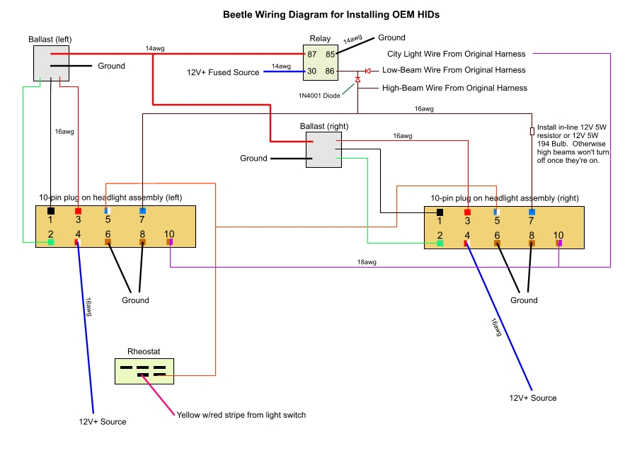 xenon_diagram Xenon Wiring Diagram on